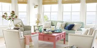 Whether You Live By The Beach Or Just Dream About Ocean Breezes Enhance Natural Beauty Of Your Home With Crisp White Splashes Bold Color