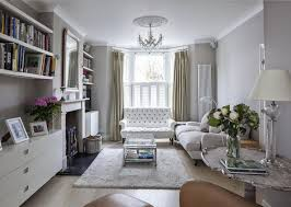 Layout Option For Sitting Room With Fitted Book Shelves