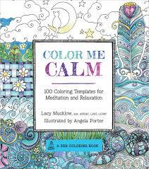 Adult Coloring Book Race Point Publishing Color Me Calm