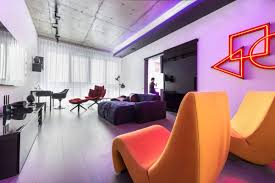 100 Apartments In Moscow Neon Lights Add Color And Uniqueness To A Apartment