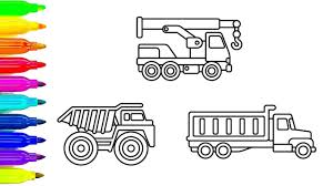 Learn Colors For Children With Construction Truck Coloring Pages ... Cstruction Trucks Coloring Page Free Download Printable Truck Pages Dump Wonderful Printableor Kids Cool2bkids Fresh Crane Gallery Sheet Mofasselme Learn Color With Vehicles 4 Promising Excavator For Coloring Page For Kids Transportation Elegant Colors With Awesome Of