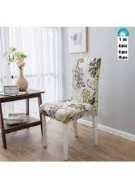 elastische moderne beschützer stuhlhussen dotbuy stuhl
