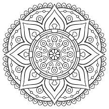 Coloring Pages Adults Adult Flowers Fairy Printable Mandala Free