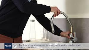 Grohe Concetto Kitchen Faucet 32665dc1 by Grohe Keukenkraan Met Uittrekbare Handdouche Installeren Youtube