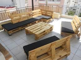 fabriquer un canapé en bois 52 idées pour fabriquer votre meuble de jardin en palette jardin