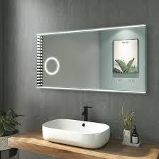 جسم كروى تضحية القطع spiegelschrank mit integriertem kosmetikspiegel