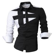men u0027s black white dress shirt u2013 stylezclothingcompany