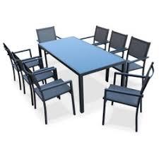 ensemble table chaises ensemble table chaise de jardin la redoute