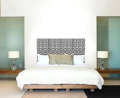 Headboard Ideas Diy Idea With Wall Decals Pallet Easy