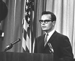 Moyers Giving A Press Conference At The White House In 1965