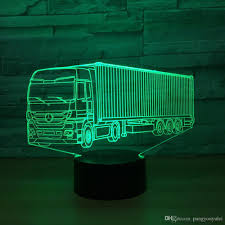 Truck Lights 3D Optical Lights Acrylic USB Cable LED Lamp Kids Toy ... Vintage Red Truck Cab Mini Lamp Toy Lamp Mictuning 2pcs 60 Bed Light Led Strip Waterproof Cute And Charming Kids Table Eflyg Beds Trucklite Launches Model 900 A Full Rear Lamptrucklite Carol Braden Llc Spring 1915fordtrucklamp Heritage Museums Gardens Topkick Dump For Sale Together With Hoist Cylinder Also Tonka J Dooley Lamps Shades Pinterest 2 Strips Fxible Lights Rail Awning Lighting Kit 10x Car 9 Smd 1156 Ba15s 12v Bulb Moto Tail Turn