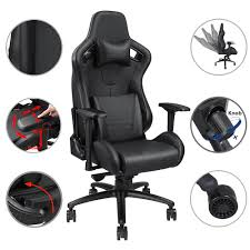 YescomUSA: Anda Seat Premium Racing Gaming Chair PVC Vinyl Leather ... Office Gaming Chair Racing Recliner Bucket Seat Computer Desk Licensed Marvel Stool With Wheel Spiderman Neo Viv Rae Bean Bag Floor Game Reviews Wayfair Iron Man Level Up Ottoman Review Youtube Pin By Stephanie On Bedroom Ideas Pinterest Wooden Ding Chairs With Ftstool And Light Recpro Charles Rv Storage Amazoncom Cohesion Xp 112 Wireless Lane Fniture