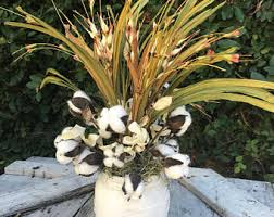 Cotton Floral ArrangmentFixer Upper Style Arrangement FallCotton ArrangemnetMagnolia