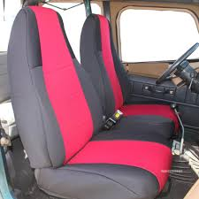 2004 Jeep Wrangler Waterproof Seat Covers - Velcromag