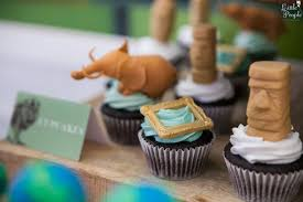 Cupcakes From A Museum Of Natural History Themed Party Via Karas Ideas
