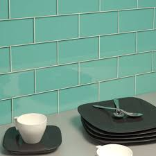 Light Blue Glass Subway Tile Backsplash by Accessories Heavenly Picture Of Kitchen Decoration Using Cream