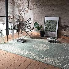 de fraai teppich vintage grun 70x140cm
