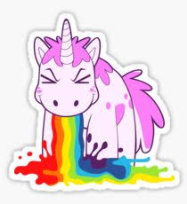 Unicorn I Puke Rainbows