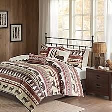 Woolrich Bedding Discontinued by Lodge Style Bedding U0026 Bedding Sets Lodge Curtains Bed Bath U0026 Beyond