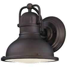 westinghouse orson rubbed bronze led outdoor wall light at
