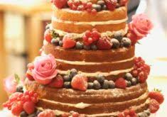 New Make Wedding Cake Out Of Victoria Sponge How To A Naked Rustic Vintage