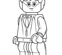 Harry Potter Coloring Pages Lego Page Free Printable