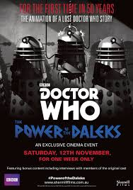 Dr Who Dalek Christmas Tree by Doctor Who The Power Of The Daleks U2014 Sharmill Films