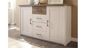 kommode luca sideboard in pinie weiß und trüffel
