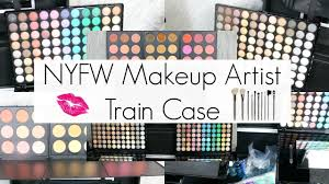 Rickys Nyc Halloween Makeup by What U0027s Inside My Fashion Week Makeup Artist Train Case