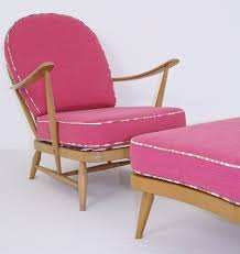 Ercol Windsor Model 203 Lounge Chair And Footstool - NOT In Pink ... Having A Moment For Pink Blanc Affair Sweet Pink Armchairs Architecture Interior Design Pair Of Lvet By Guy Besnard 1960s Market Kubrick Fauteuil Met Vleugelde Rugleuning In Snoeproze Hot Armchair Modern Living Room Ideas Nytexas Armchairs For Cie 1962 Set 2 Lara Armchair Fern Grey Lotus Velvet Decorating And Interiors Large Patchwork Sage Floral Home Decor Midcentury Dusty 1950s Sale