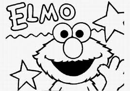 To Print Printable Elmo Coloring Pages 15 With Additional Download