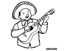 Free Cinco De Mayo Coloring Pages At TheColor