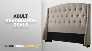 Target Roma Tufted Wingback Bed by Bedroom Furniture Headboards Deals Target Pre Black