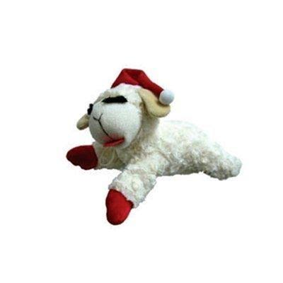 "Multipet Holiday Lambchop Toy - 6"", Small"