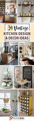 Kitchen Decor And Design On 34 Best Vintage Kitchen Decor Ideas And Designs For 2021