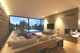 moderne wohnzimmer villa p2 dg d architekten modern