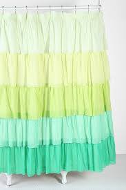 Pink Ruffle Curtains Urban Outfitters by 121 Best Bathroom Curtains Images On Pinterest Bathroom Curtains
