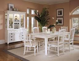 Love This White Dining Room Set With The Hutch Esp Storage In And Spindle Back Chairs