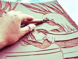Linoleum Cut Printmaking