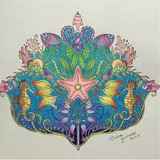 2015 Anti Stress Lost Ocean Inky Hunt Coloring Books For Children Adult Kill Time Graffiti Painting Drawing