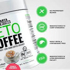 Keto Coffee Sparta Nutrition