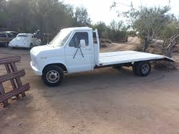 100 Ford Truck 1980 ESeries Van Truck Car Hauler Flatbed Stake Bed