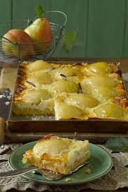 birnenkuchen vom blech