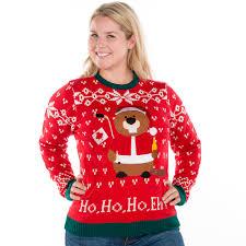 Leg Lamp Christmas Sweater Diy by Canadian Hockey Beaver Ugly Christmas Sweater Retrofestive Ca