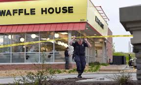 Hero Stops Maniac With Assault Rifle At Waffle House, But Gunman Who ...