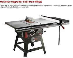 Sawstop Cabinet Saw Used by Sawstop 1 75hp Contractor Saw With 36