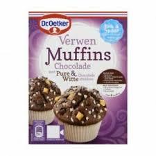 details about dr oetker verwen muffins chocolade chocolate muffin mix 345g