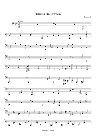 Danny Elfman This Is Halloween Piano by This Is Halloween Music Sheet For Guitar U2013 Festival Collections