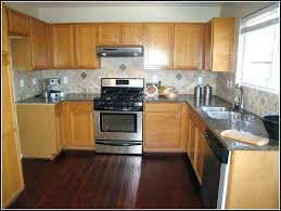 Dark Wooden Floor Kitchen Cabinets And Wood Floors Maple With