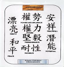 Kanji Tattoos Heres Are Some Examples Of A Few Pages Image14P2
